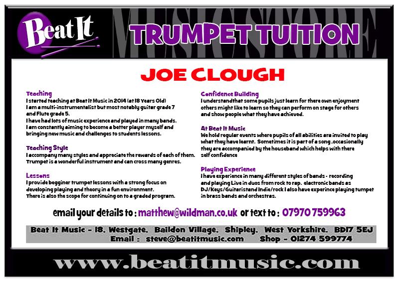Beat It Music | Trumpet Lessons